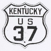 US 37 Kentucky Shield