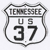 US 37 Tennessee Shield
